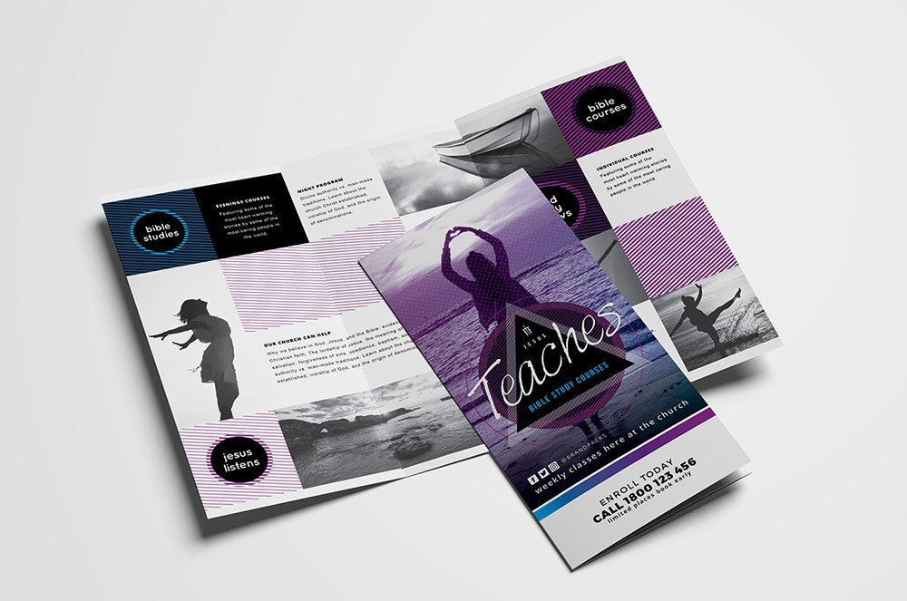 Photoshop Tri Fold Brochure Template 15 Free Tri Fold Brochure Templates In Psd & Vector