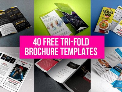 Photoshop Tri Fold Brochure Template 40 Free Tri Fold Brochure Templates by Graphicsfuel Rafi