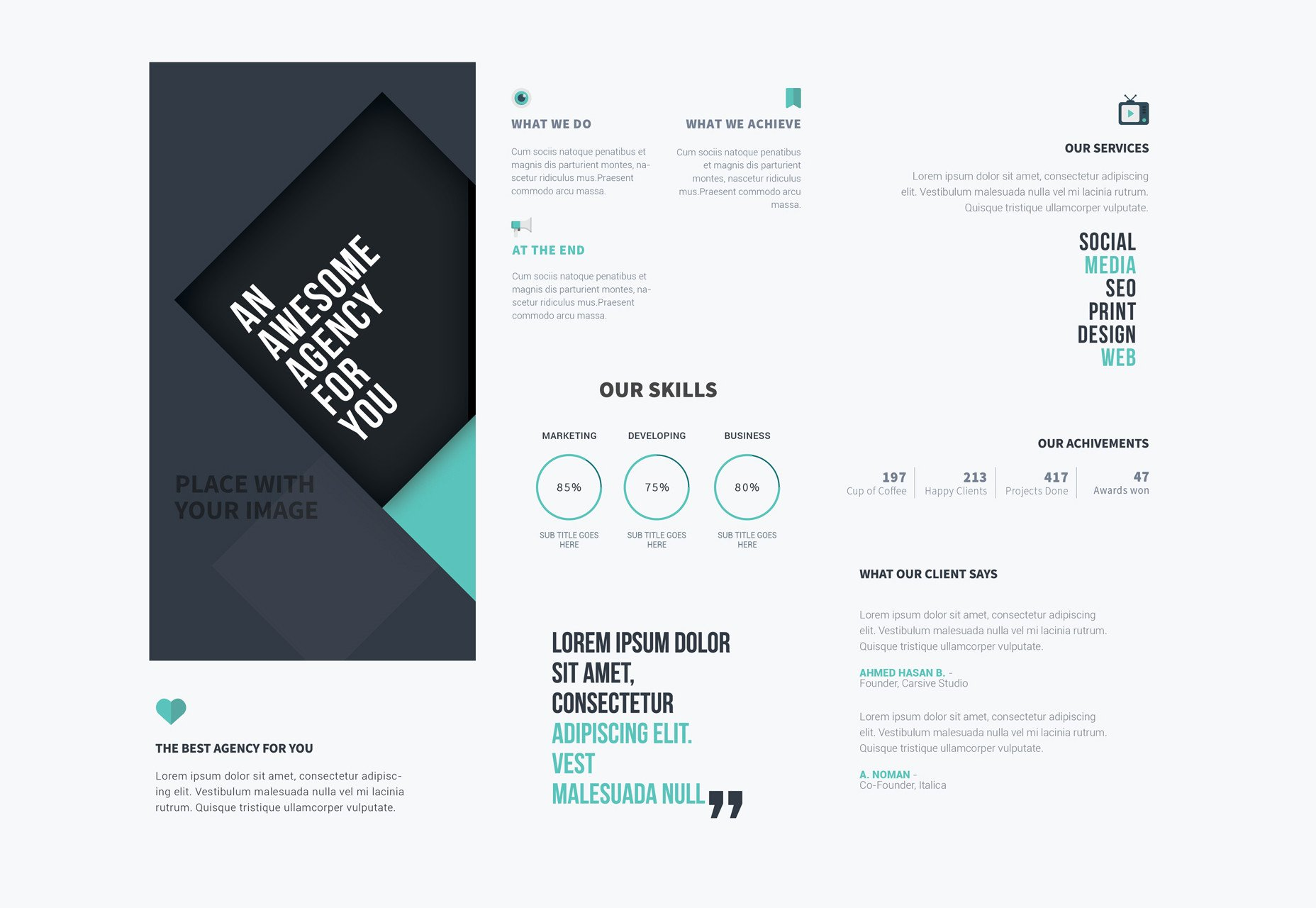 Photoshop Tri Fold Brochure Template 50 Incredible Freebies for Web Designers June 2015