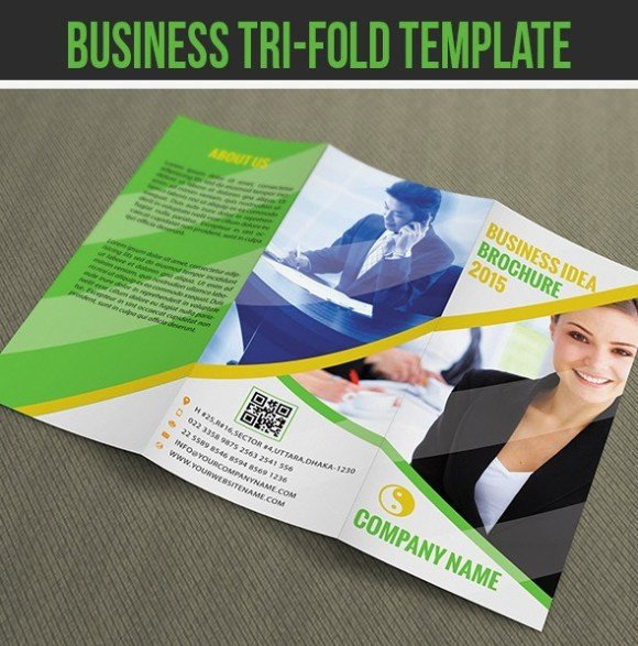 Photoshop Tri Fold Brochure Template 65 Print Ready Brochure Templates Free Psd Indesign & Ai