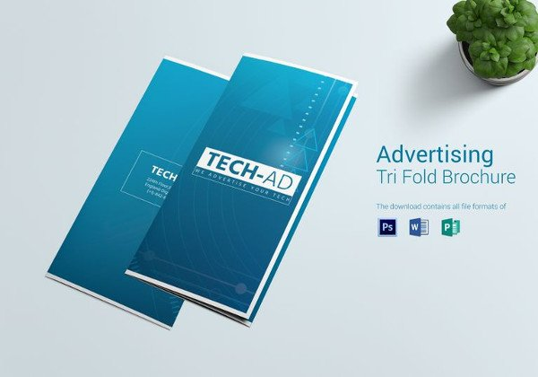Photoshop Tri Fold Brochure Template 72 Advertising Design Templates Word Psd Ai Eps