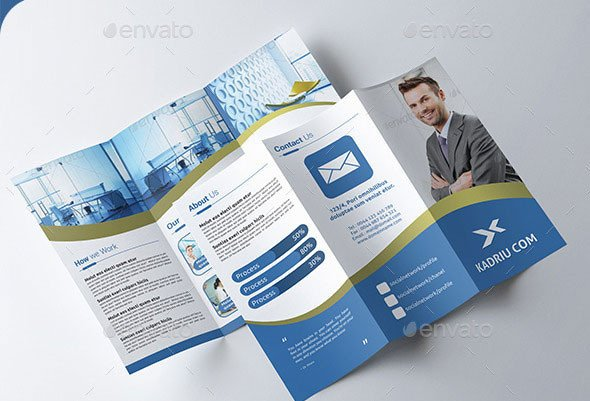 Photoshop Tri Fold Brochure Template Tri Fold Brochure Template Shop Cs6