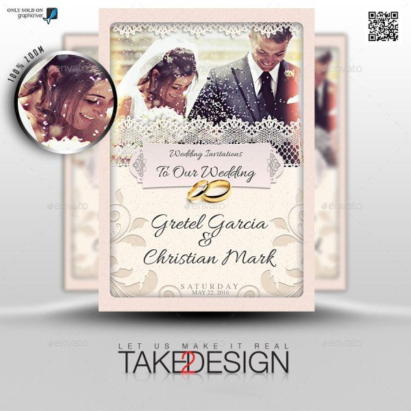 Photoshop Wedding Invitation Templates 37 Awesome Psd & Indesign Wedding Invitation Template