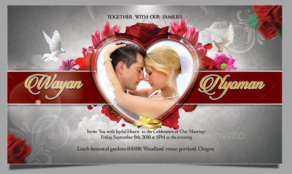 Photoshop Wedding Invitation Templates 59 Invitation Templates Psd Ai Word Indesign