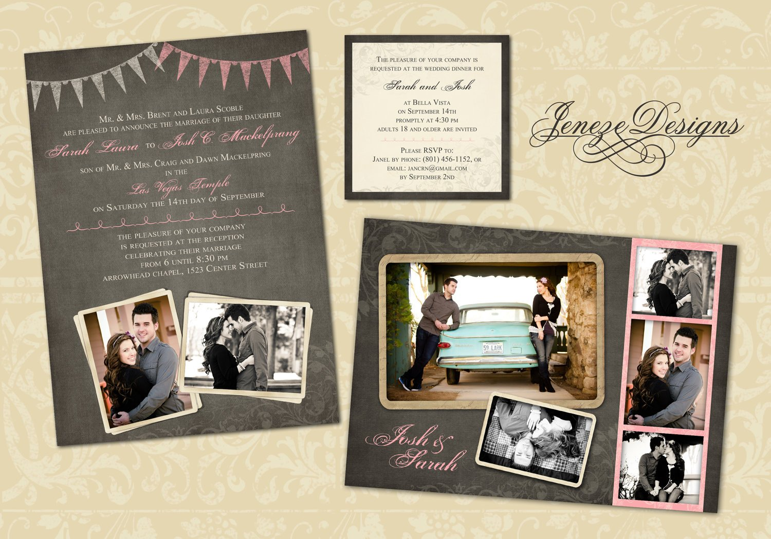 Photoshop Wedding Invitation Templates Wedding Invitation Template Graphers and Shop