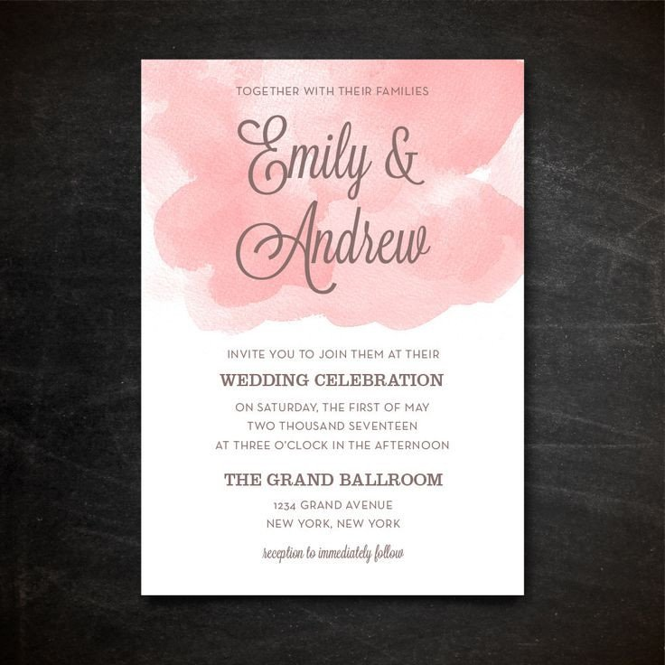 Photoshop Wedding Invitation Templates Wedding Invitation Template Printable Wedding Invitation
