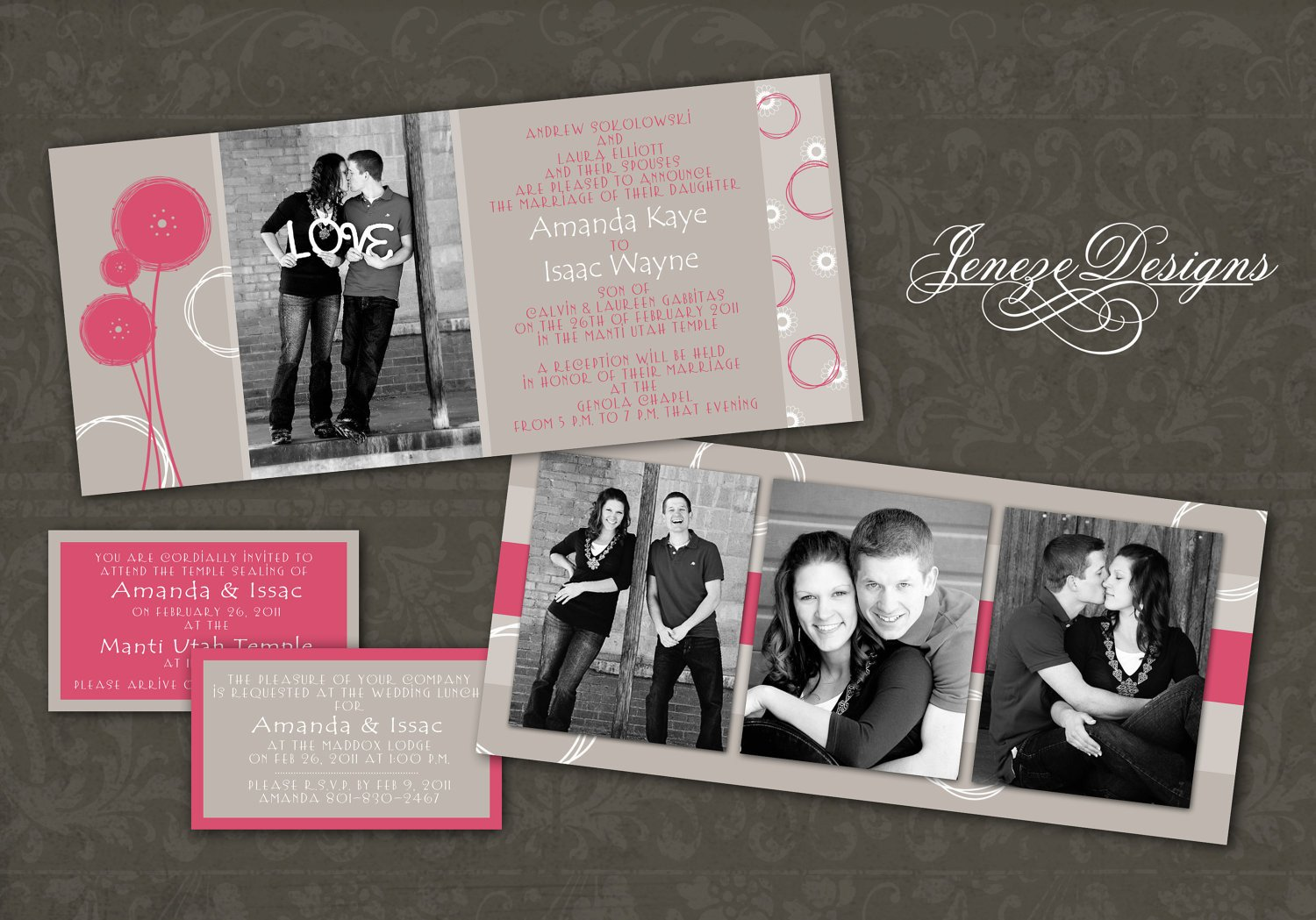 Photoshop Wedding Invitation Templates Wedding Invitation Wording Wedding Invitations Template