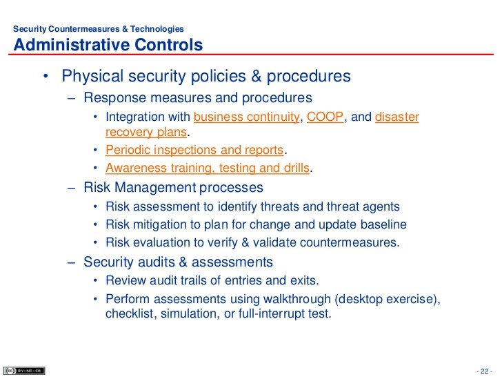 Physical Security Policy Template 6 Physical Security