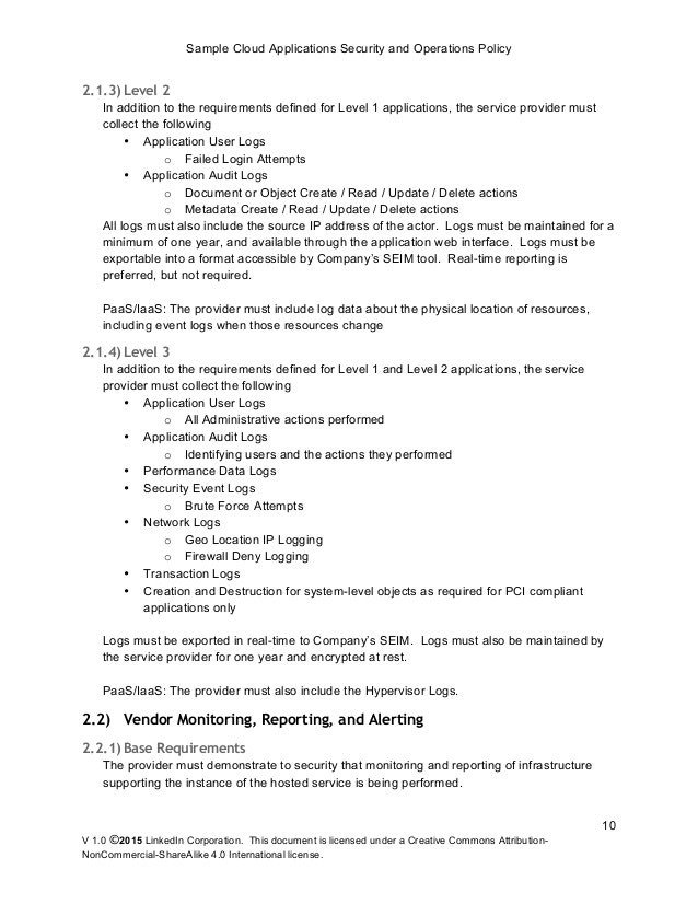 Physical Security Policy Template Ideas for Physical Security Policy Template Job Summary