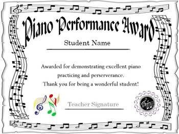 Piano Recital Certificate Template 11 Best Recital Certificates Images On Pinterest