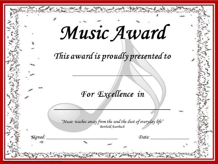 Piano Recital Certificate Template Image Result for Piano Recital Certificate Template
