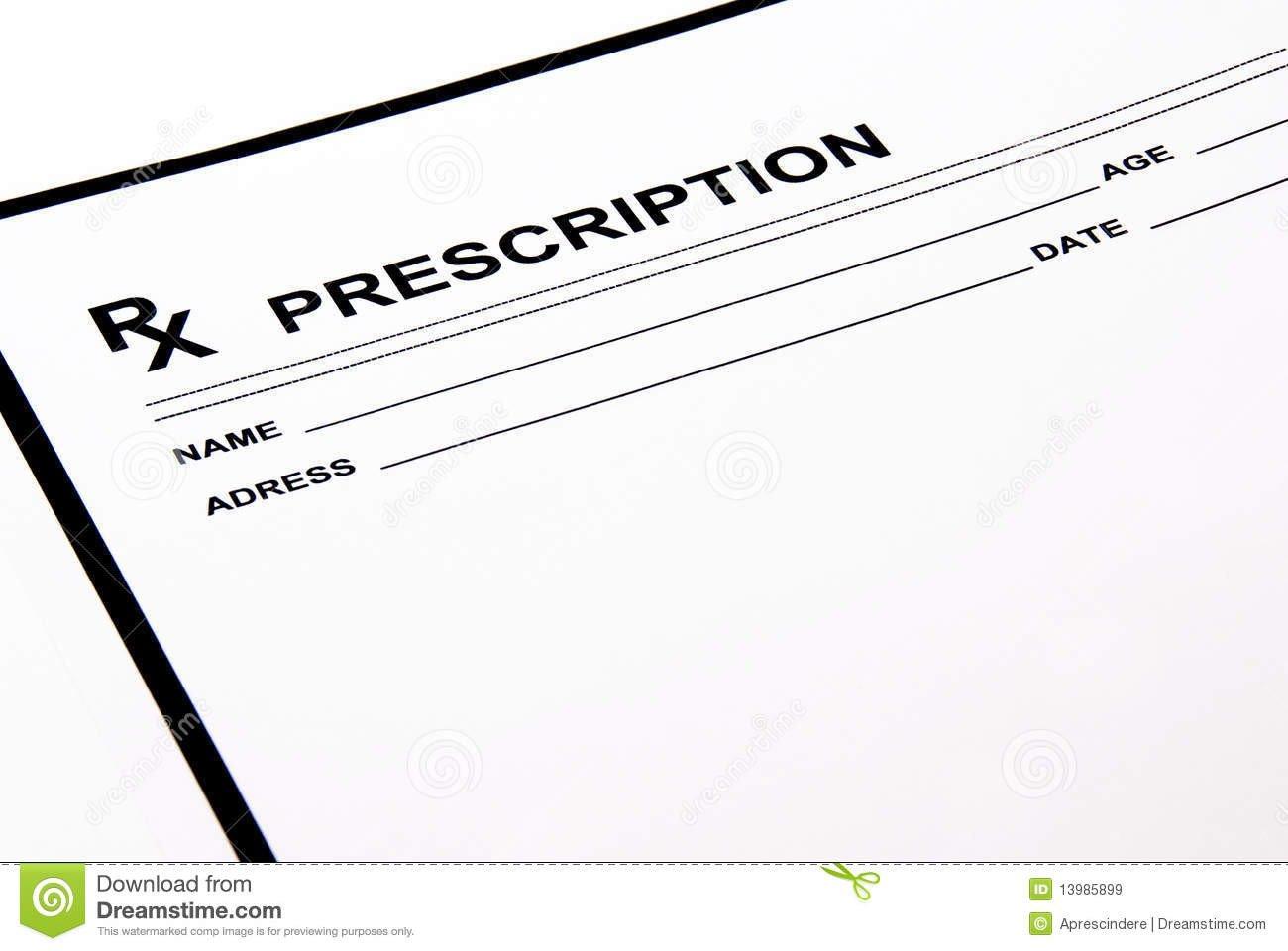 Picture Of Prescription Pad Call Him Hunter