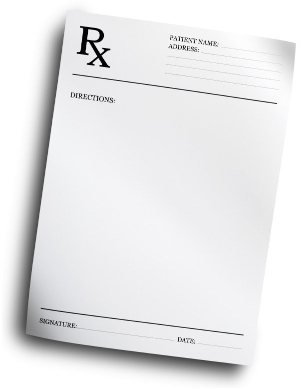 Picture Of Prescription Pad Exercise Prescription for Osteoporosis for Physical