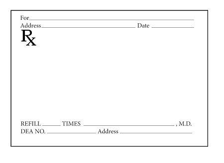 Picture Of Prescription Pad Prescription Pads