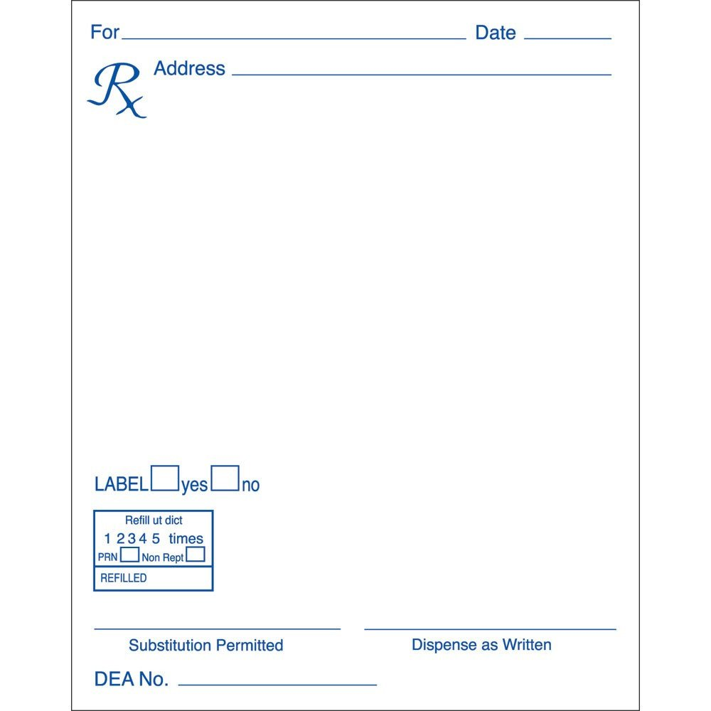 Picture Of Prescription Pad Vox Médica Dr Gonzalo Bearman