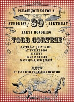 Pig Roast Invitation Template Free 1000 Images About Pig Roast On Pinterest