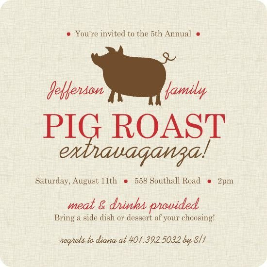 Pig Roast Invitation Template Free 17 Best Images About Pig Roast Party On Pinterest