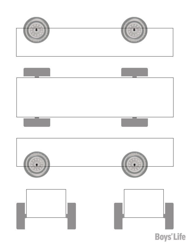 Pinewood Derby Car Design Template Download A Free Pinewood Derby Car Design Template – Boys