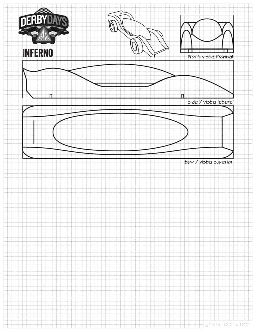 Pinewood Derby Car Templates 39 Awesome Pinewood Derby Car Designs & Templates