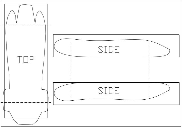 Pinewood Derby Car Templates Car Templates