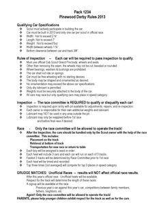 Pinewood Derby Scoring Spreadsheet Score Keeping Spreadsheets for Pinewood Derby Races 3