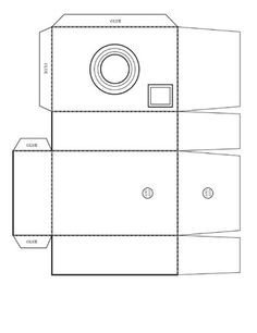 Pinhole Camera Template 1000 Images About Craft Night On Pinterest