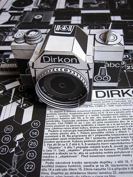 Pinhole Camera Template Dirkon the Vintage Diy Pinhole Camera Made Of Paper