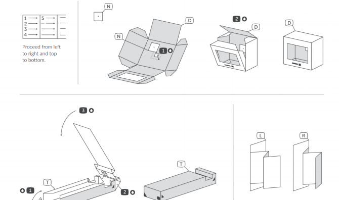 Pinhole Camera Template Tefau is A Free Television Inspired Paperfold Pinhole