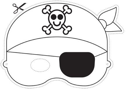 Pirate Mask Template Pirate Mask Found at