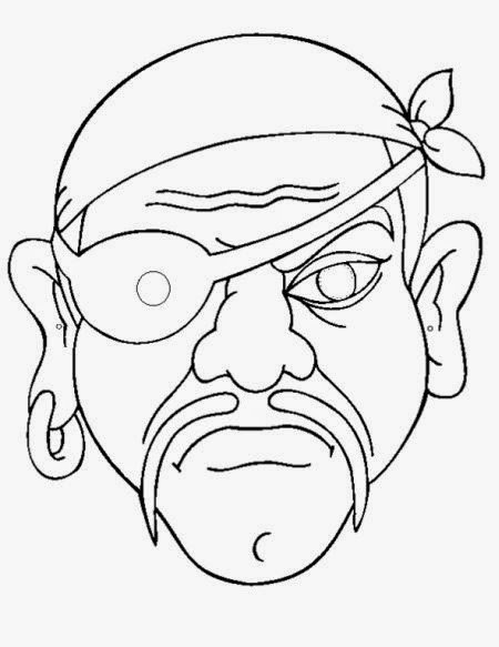 Pirate Mask Template Pirates Free Printable Masks