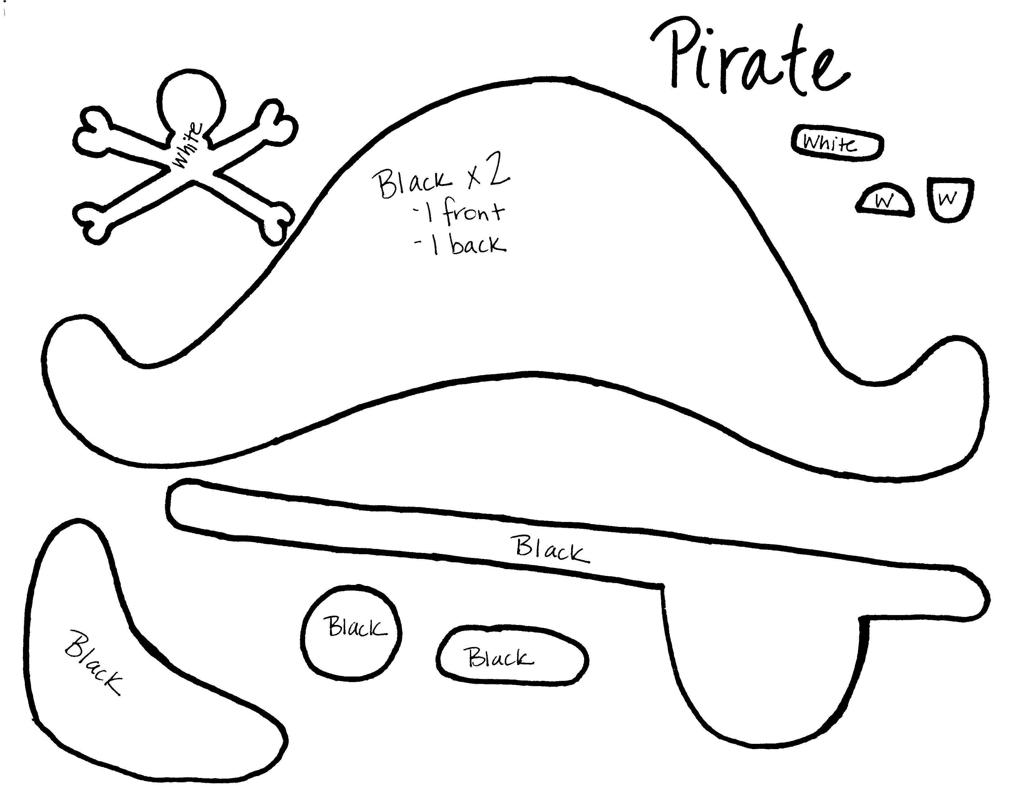 Pirate Mask Template Pottery Barn Style On A Bud Halloween Edition