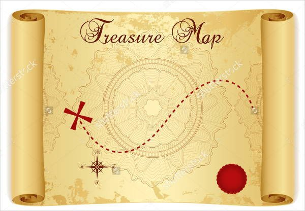 Pirate Treasure Map Template 6 Treasure Map Templates Free Excel Pdf Documents