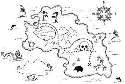 Pirate Treasure Map Template Diy How to Make Treasure Map Invitations
