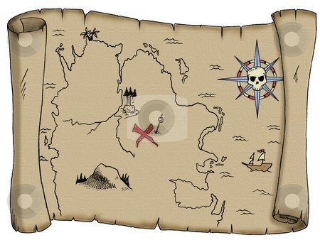 Pirate Treasure Map Template Free Treasure Map Outline Download Free Clip Art Free