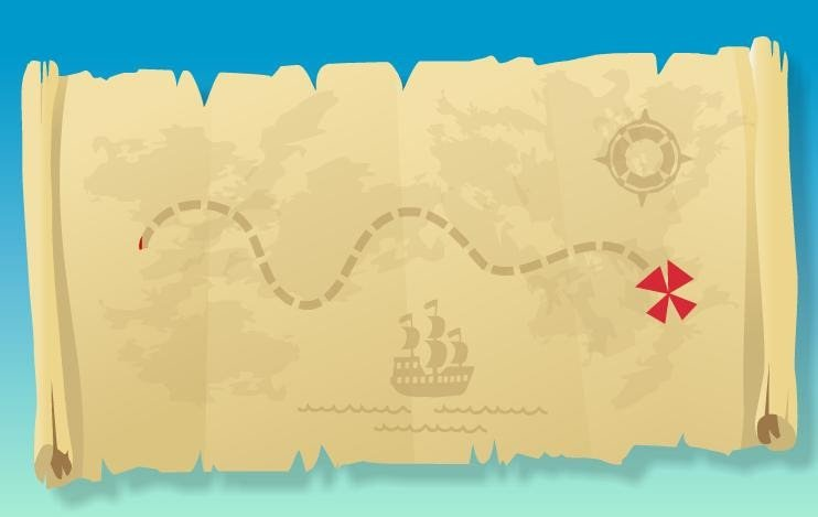 Pirate Treasure Map Template Midnight Cravings Jake and the Neverland Pirates Birthday