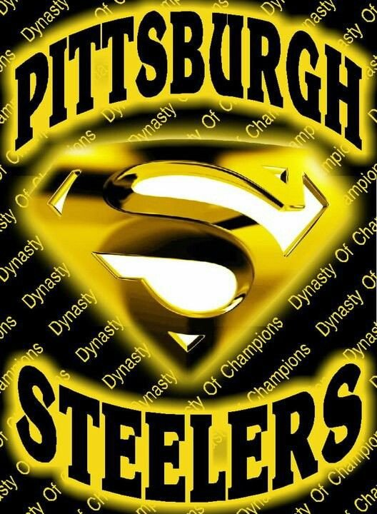 Pittsburgh Steelers Superman Logo Dynasty are You Ready Pinterest