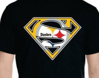 Pittsburgh Steelers Superman Logo Steelers