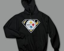 Pittsburgh Steelers Superman Logo Unique Superman Steelers Items