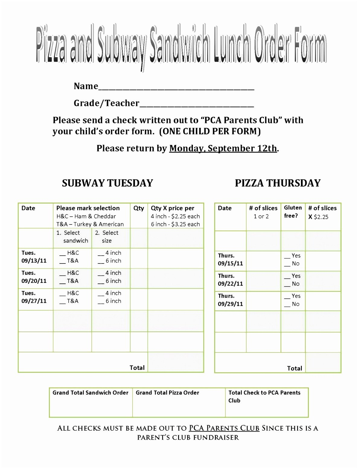 Pizza order form Template 12 Pizza order form Template Ypiet