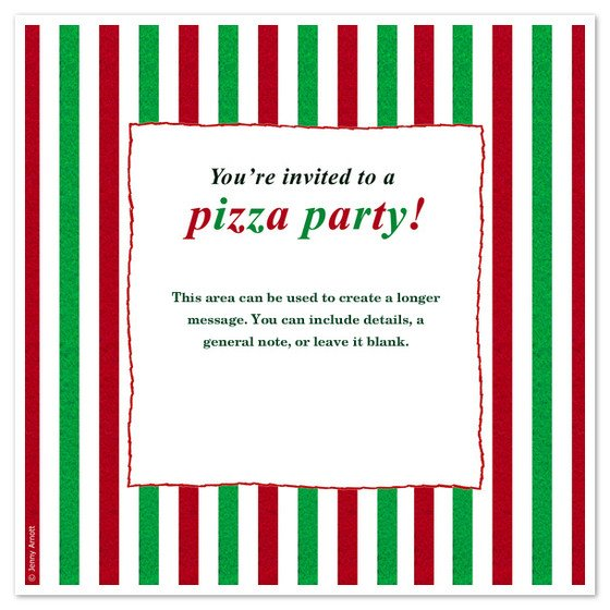 Pizza Party Invite Template Pizza Party Invitations & Cards On Pingg