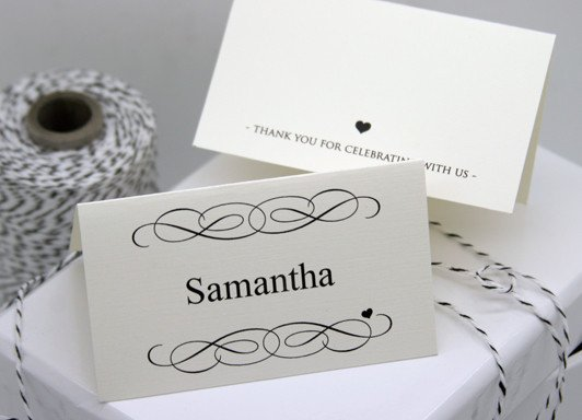 Place Card Template Free Free Diy Printable Place Card Template and Tutorial
