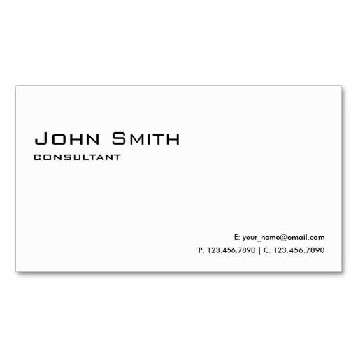 Plain Business Card Template Best 200 Plain Minimalist Business Cards Images On