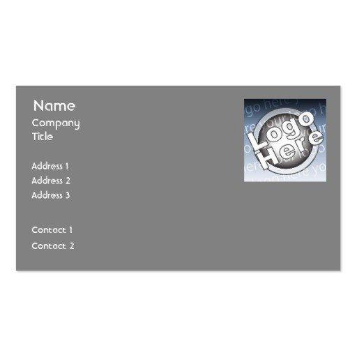 Plain Business Card Template Plain Minimalist Business Card Templates Page102