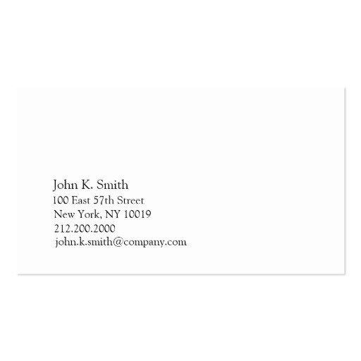 Plain Business Card Template Premium Plain Minimalist Business Card Templates Page6
