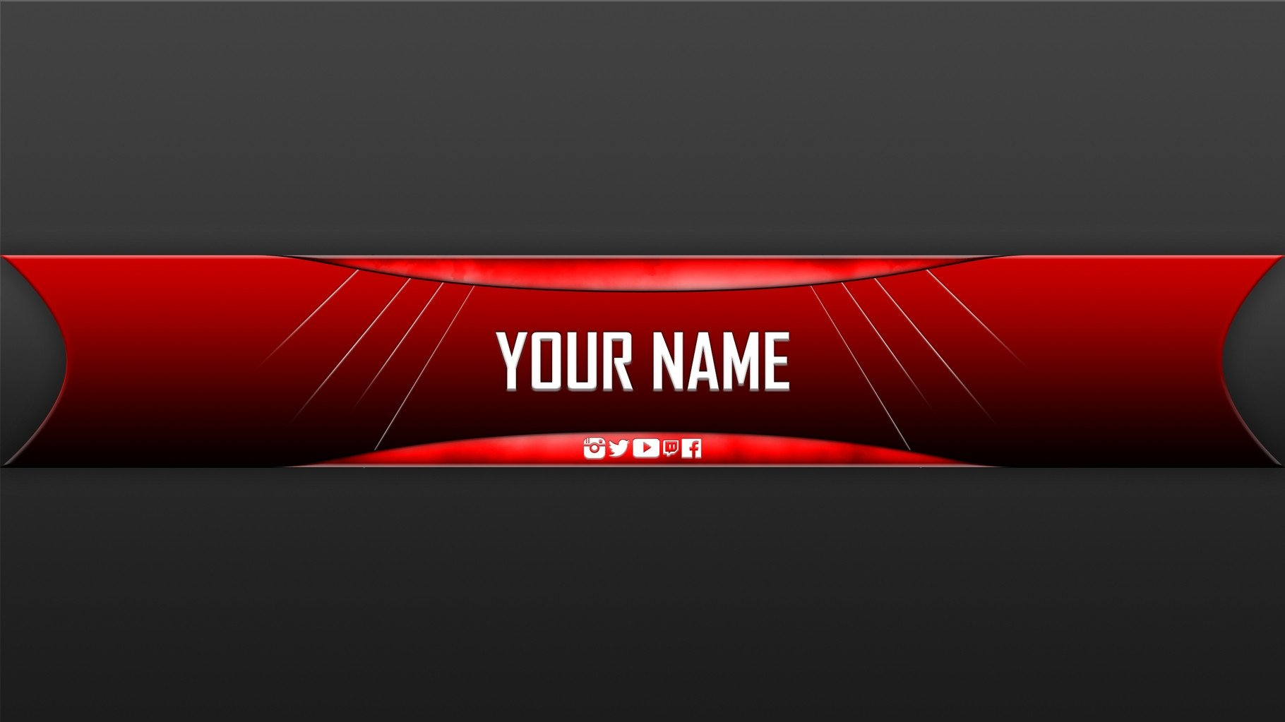 Plain Youtube Banner Template 28 Of Plain Banner Template