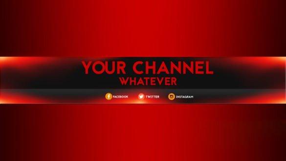Plain Youtube Banner Template 7 Free Banner Template Psd Ai Vector Eps