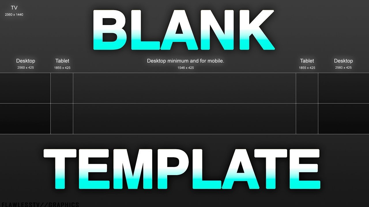 Plain Youtube Banner Template Best Blank Youtube Banner Template with Gridlines 2017