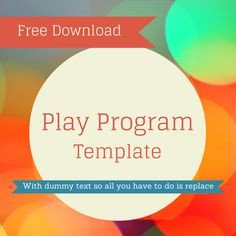 Play Program Template Word 1000 Images About Teaching theatre On Pinterest