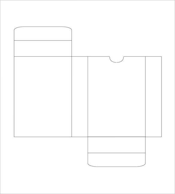 Playing Card Box Template 14 Playing Card Box Templates Doc Pdf