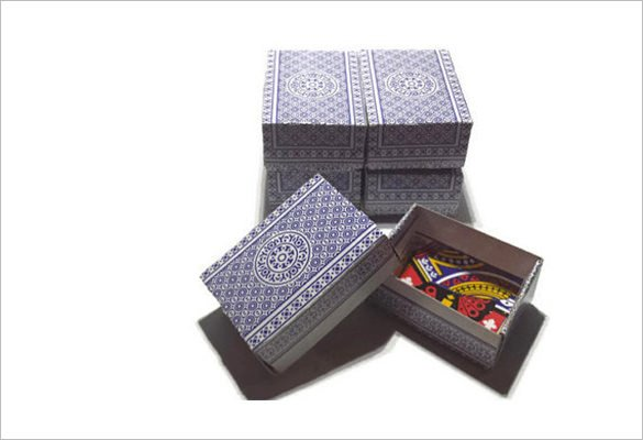Playing Card Box Template 20 Playing Card Box Templates Free Sample Example